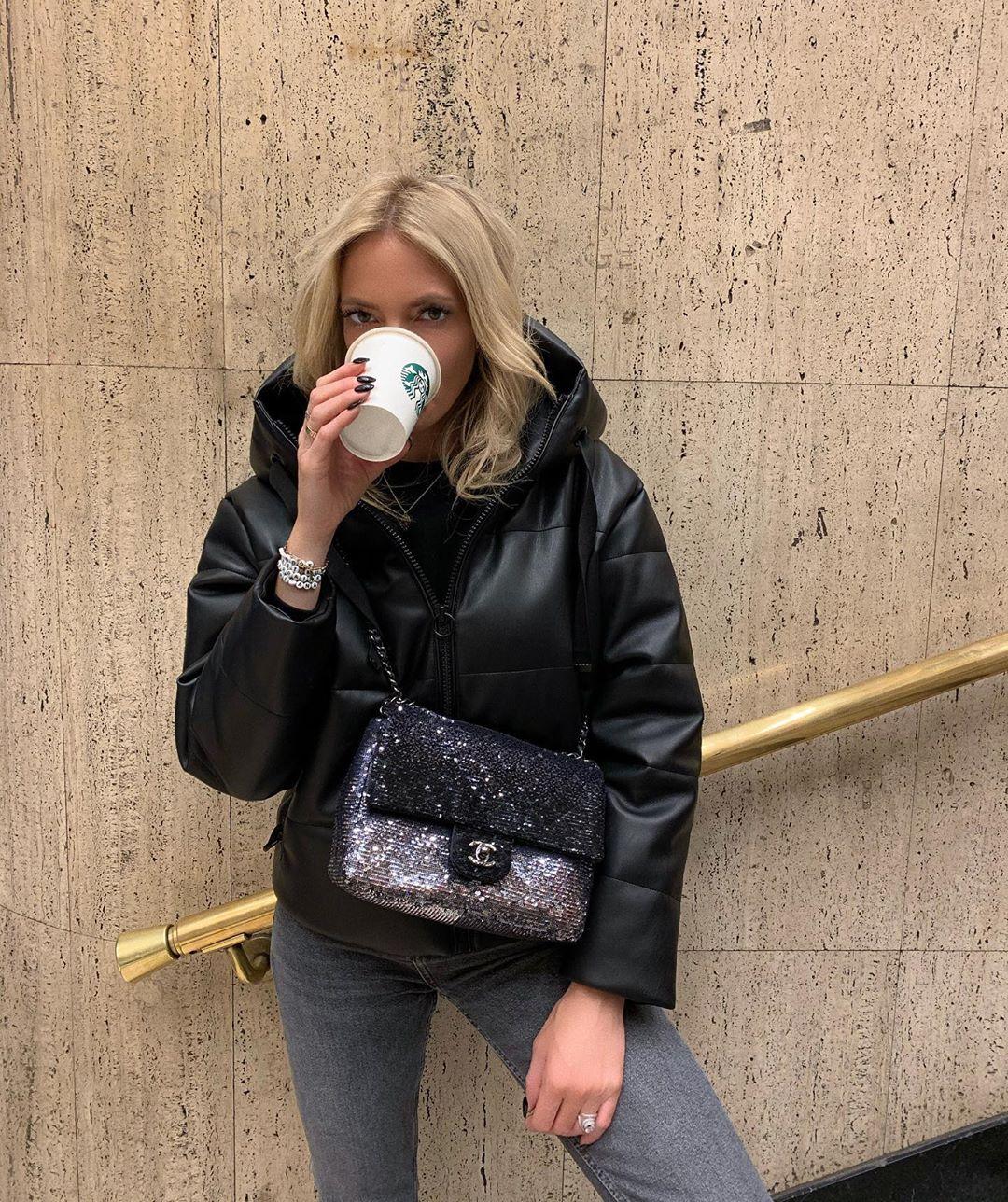 veste en cuir synthétique de Zara sur mandisfashionworld