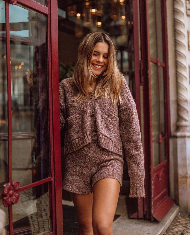 short en maille torsadée de Zara sur zara.outfits