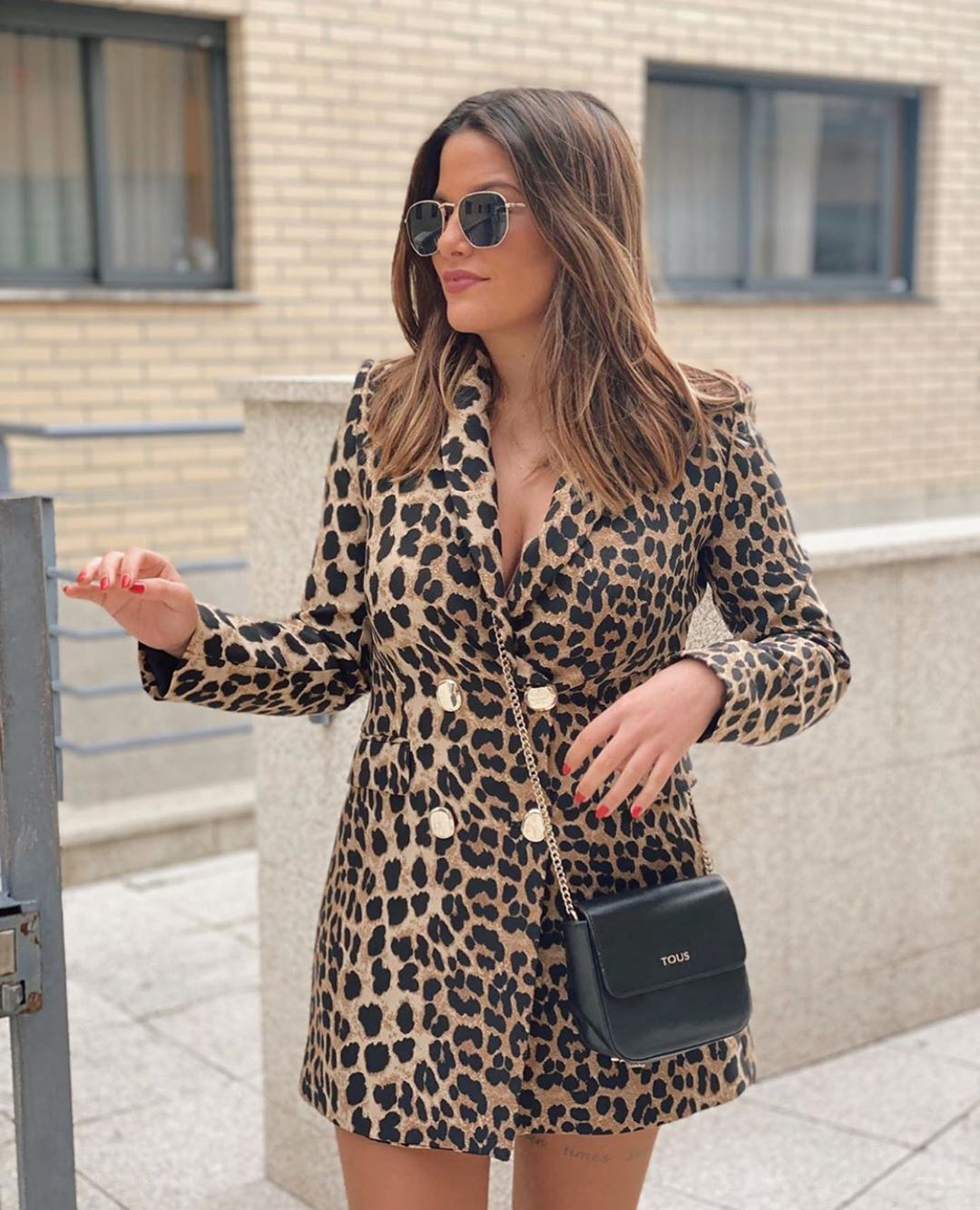 animal print frock coat de Zara sur zara.outfits