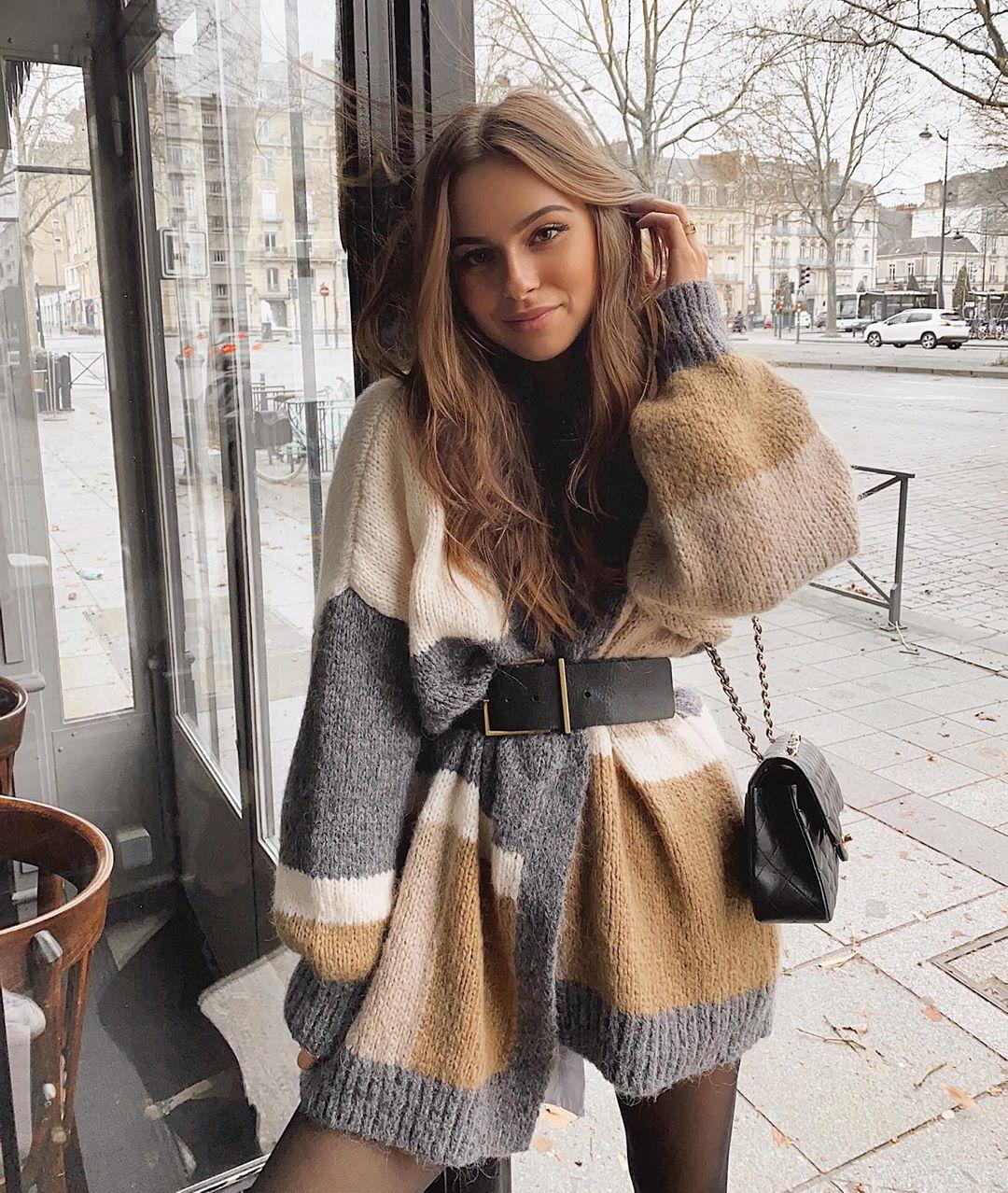 veste color block de Zara sur jodielapetitefrenchie