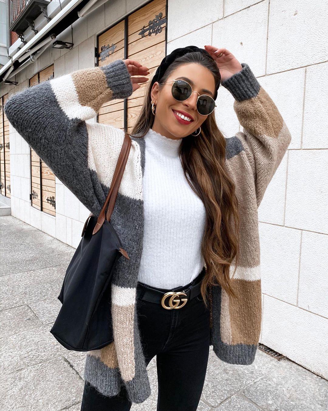 veste color block de Zara sur patiaguado