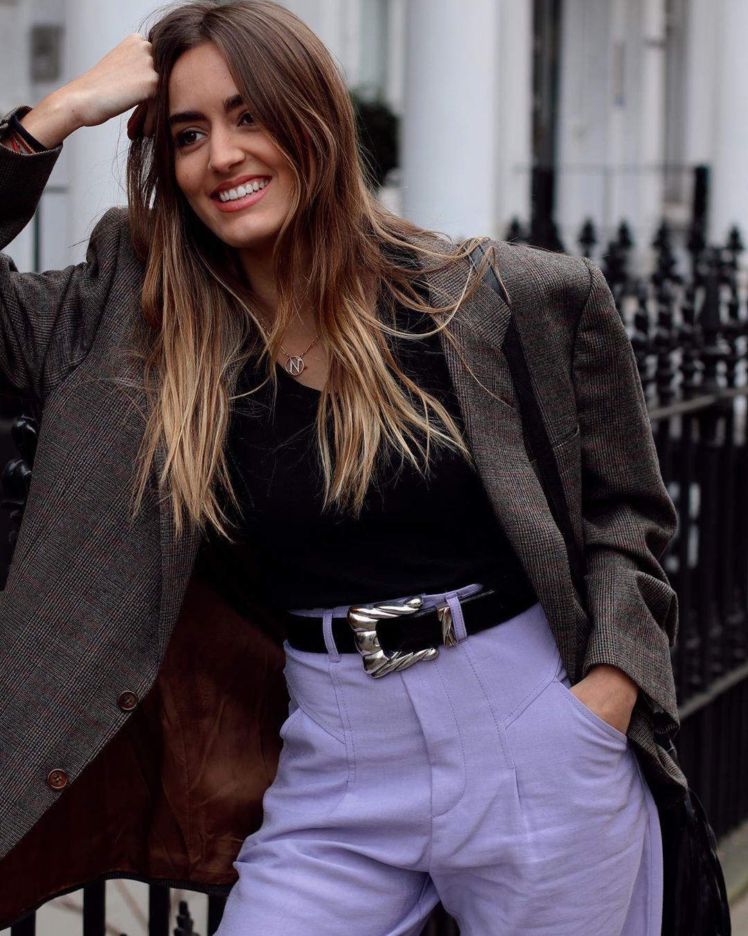 soft pants de Zara sur natichualcantara