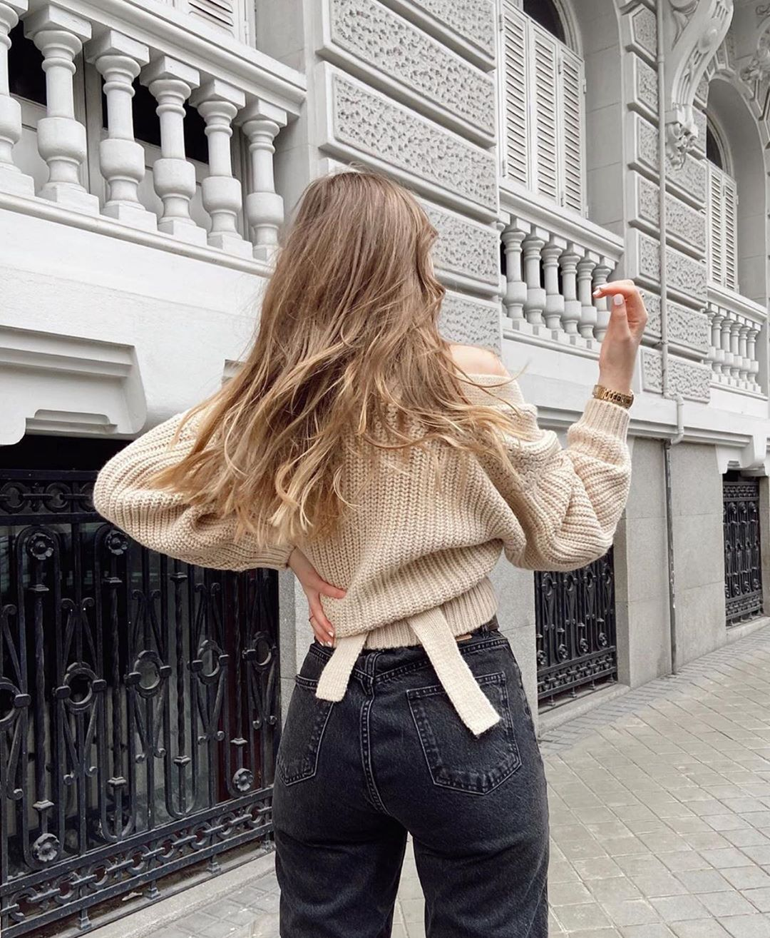 veste courte à ceinture de Zara sur zara.outfits