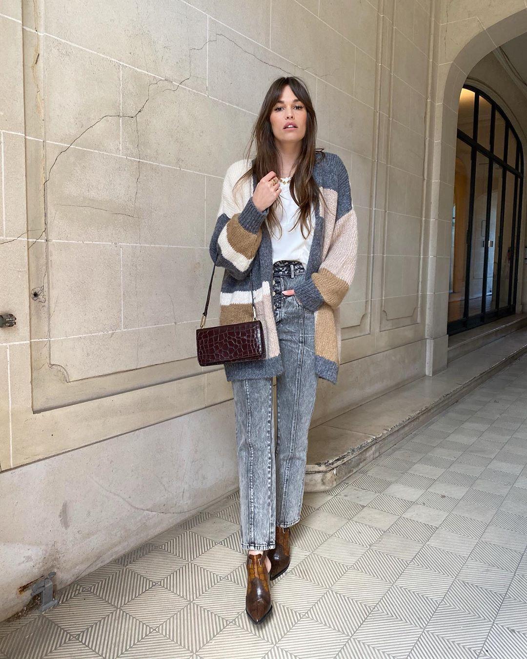 veste color block de Zara sur alisontoby