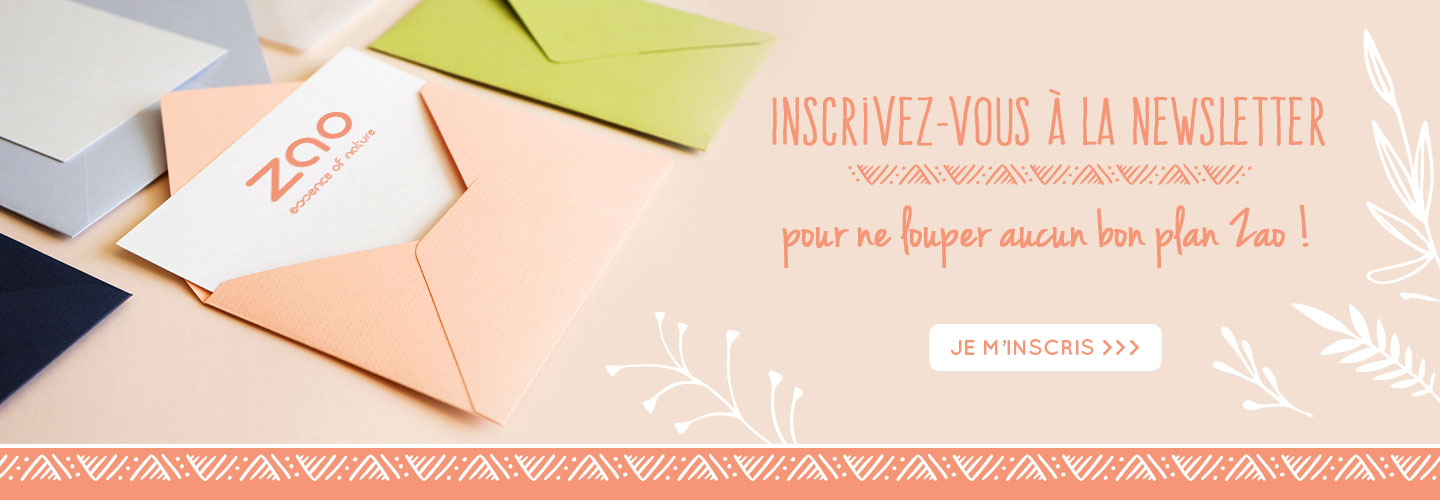 Inscription newsletter ZAO