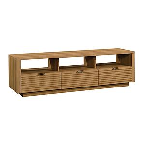 Sauder Harvey Park Entertainment Credenza, Pale Oak