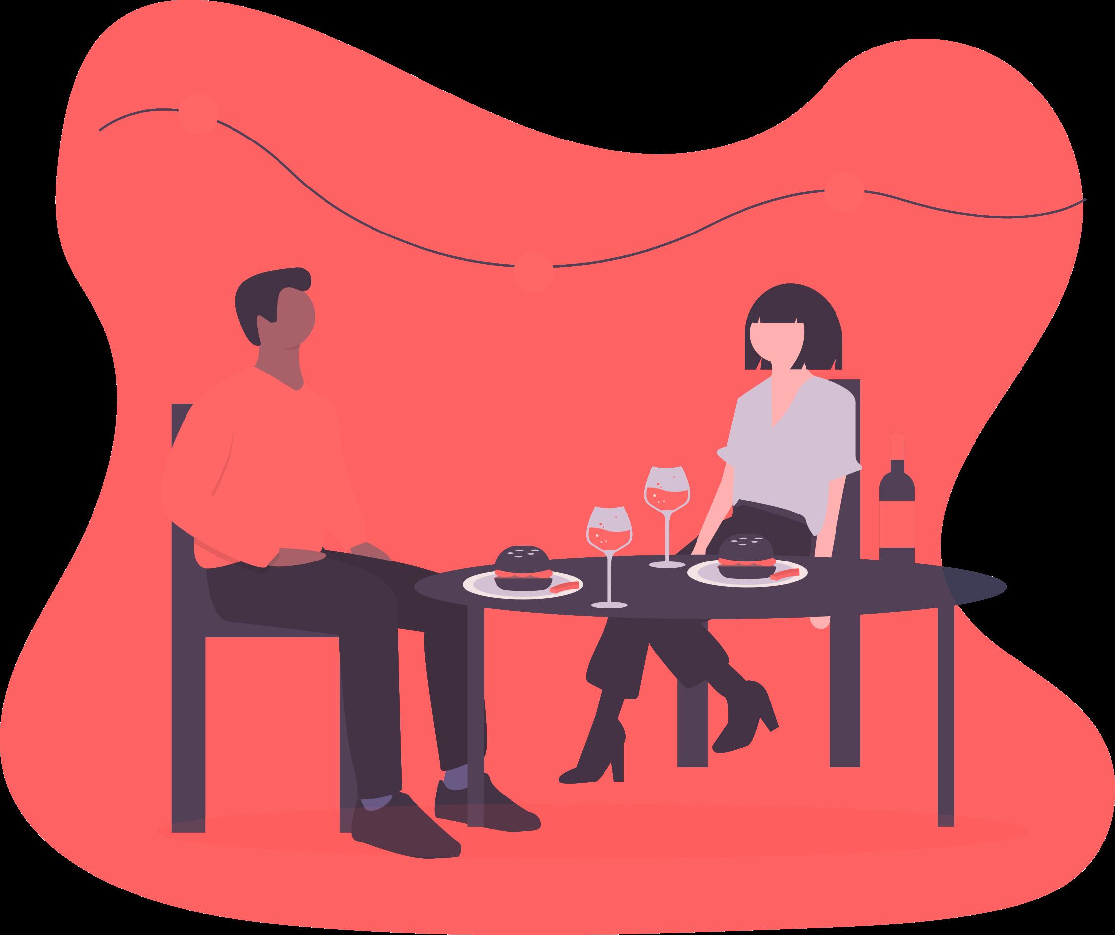 cena de empresa espacios