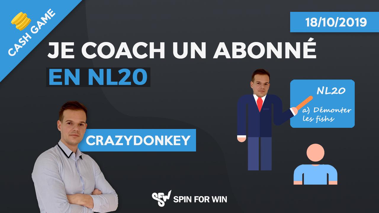 Je coach un abonné en NL20