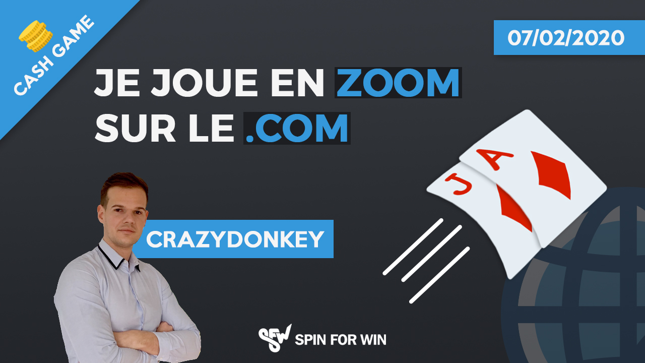 Je joue en Zoom sur le point com