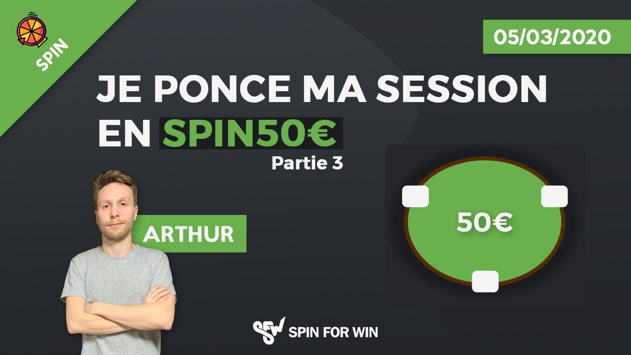 Je ponce ma session de spin 50€ - Partie 3