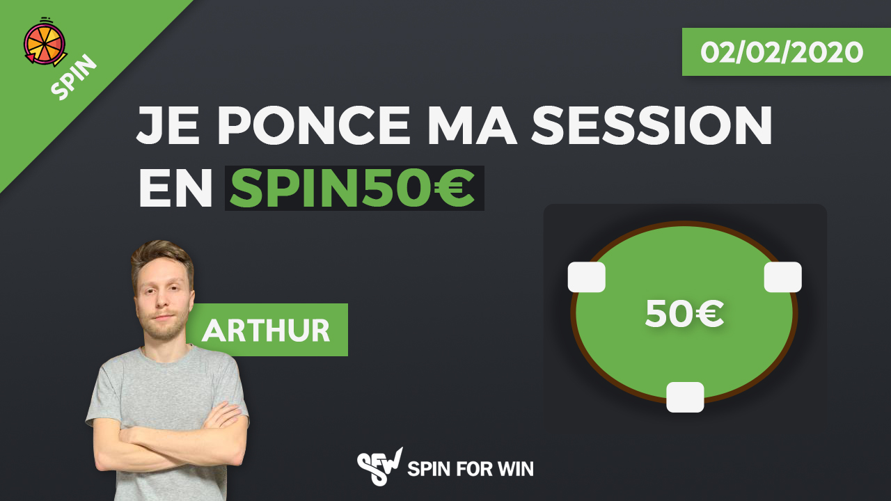 Je ponce ma session de spin 50€