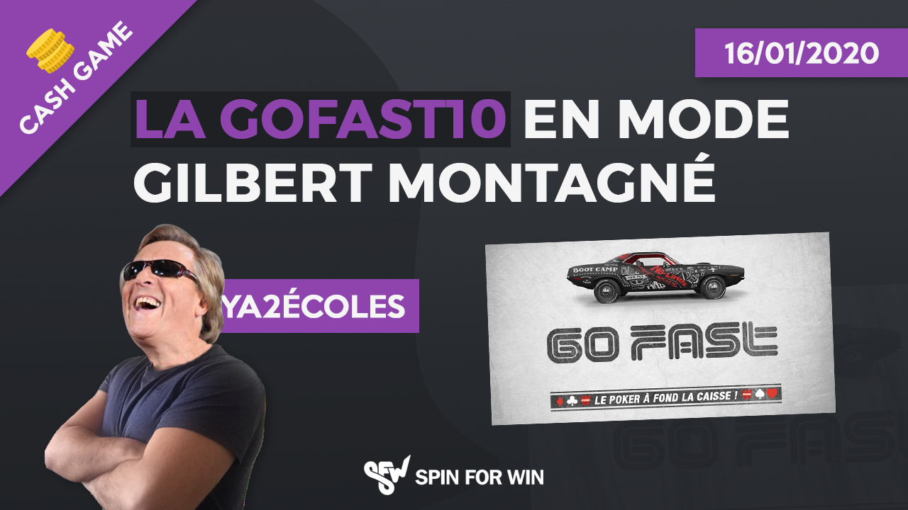 La GoFast10 en mode Gilbert Montagné !