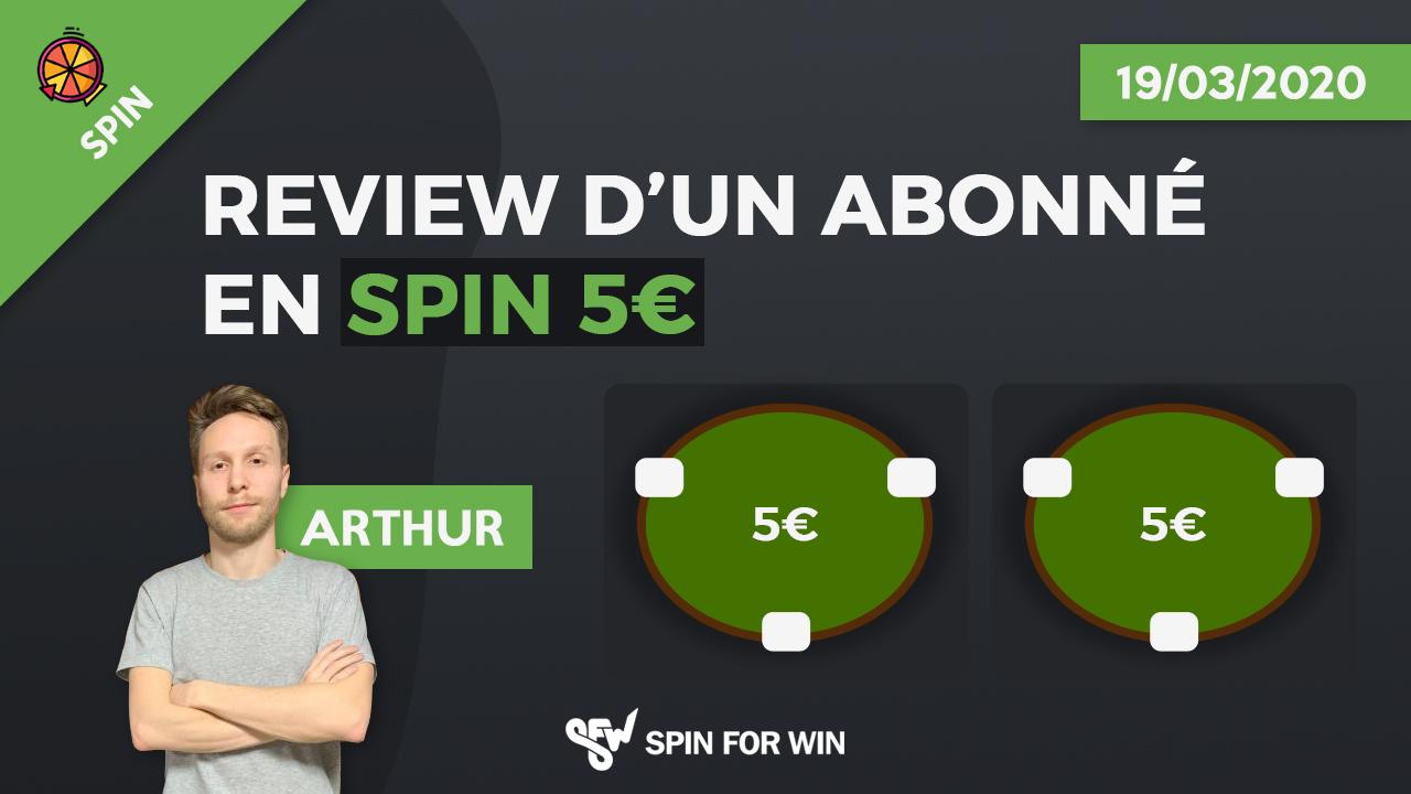 Review d'un abonné 5€