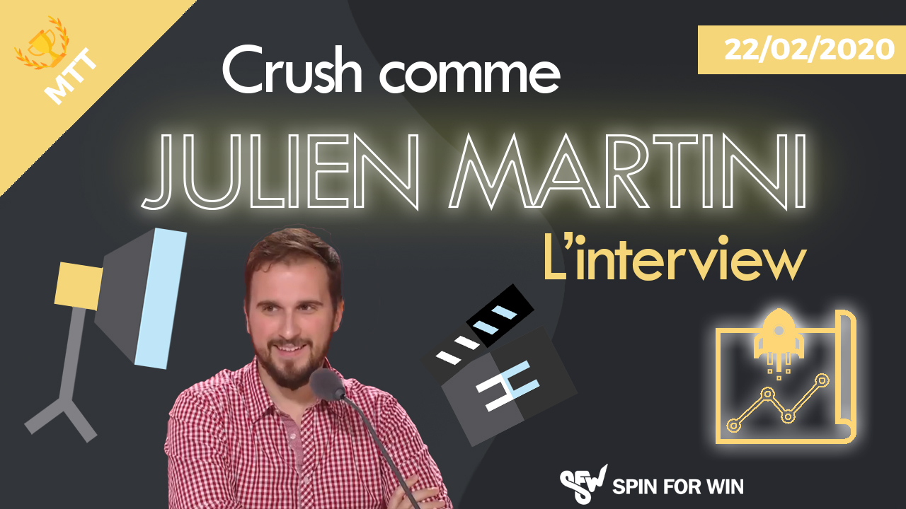 Crush comme Julien Martini Interview