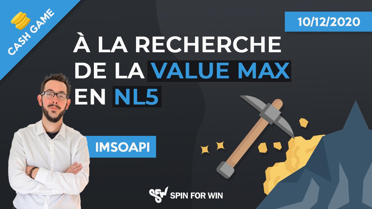 la recherche de la value max en NL5