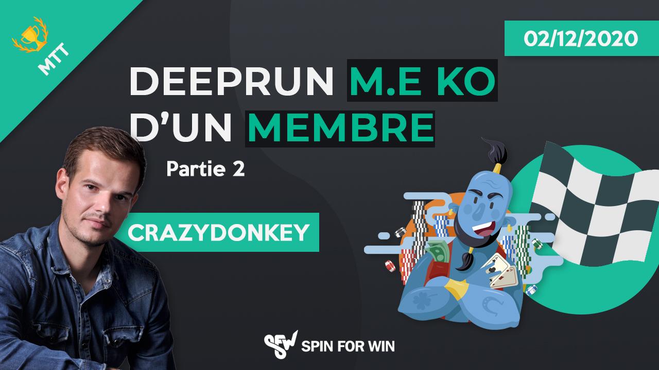 Deeprun million ko d'un membre - Partie 2