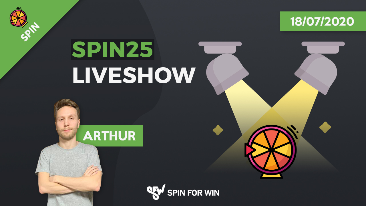 Spin25 live show