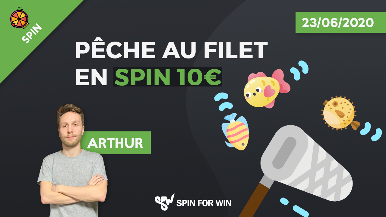 Pêche au filet en Spin 10€