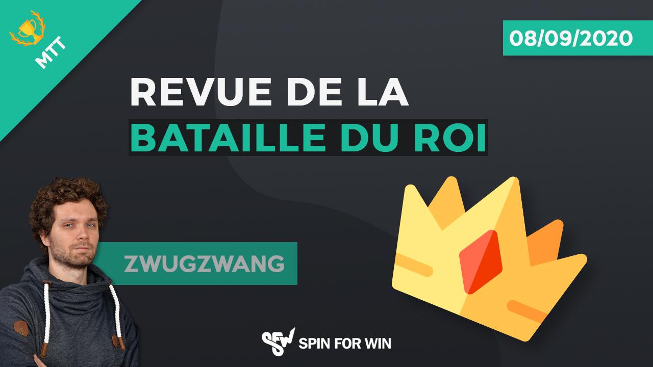 Revue de la bataille du roi