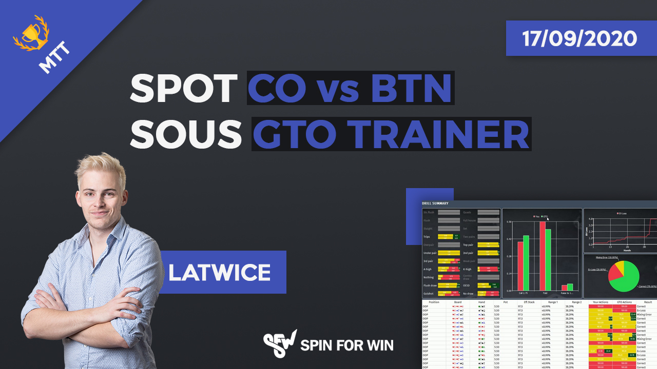 Spot co vs btn sous gto trainer