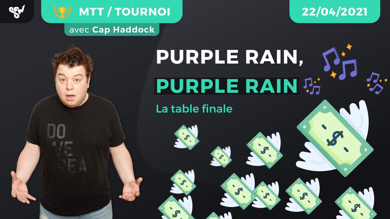 Purple rain - La TF