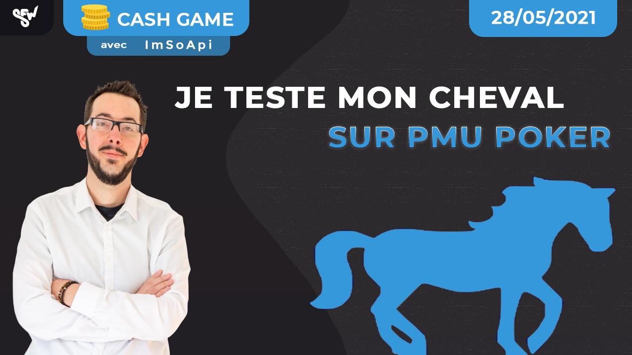 Je teste mon cheval sur PMU Poker