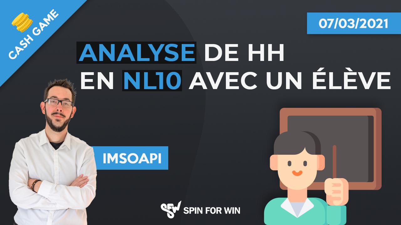 Analyse de HH en NL10 avec une élève
