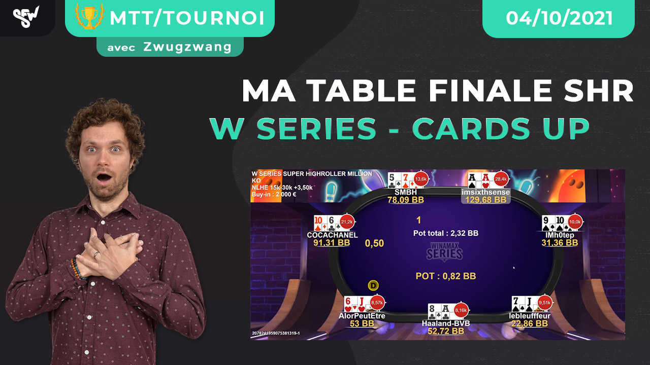 Ma table finale SHR wina serie cards up