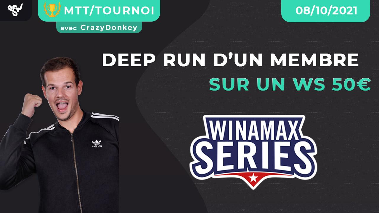 deep run sur un wina series 50€