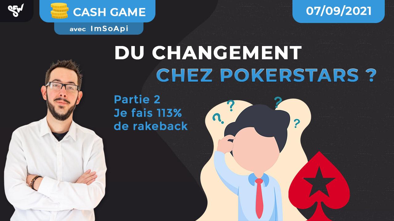 Du changement chez pokerstars - partie 2