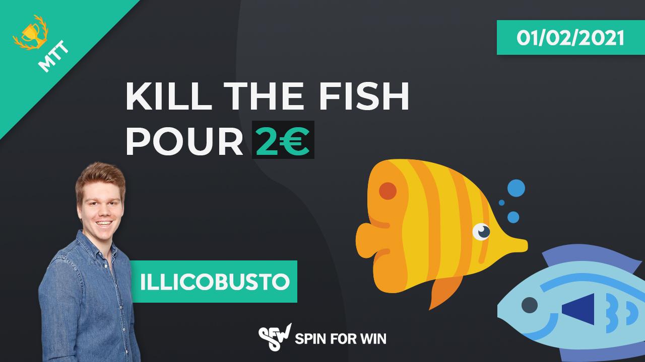 Kill the fish pour 2 euros