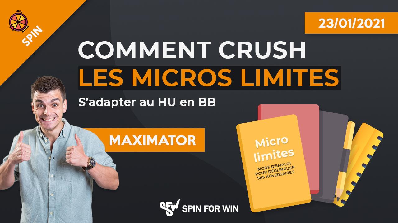 Comment crush les micros limites - HU vs BB