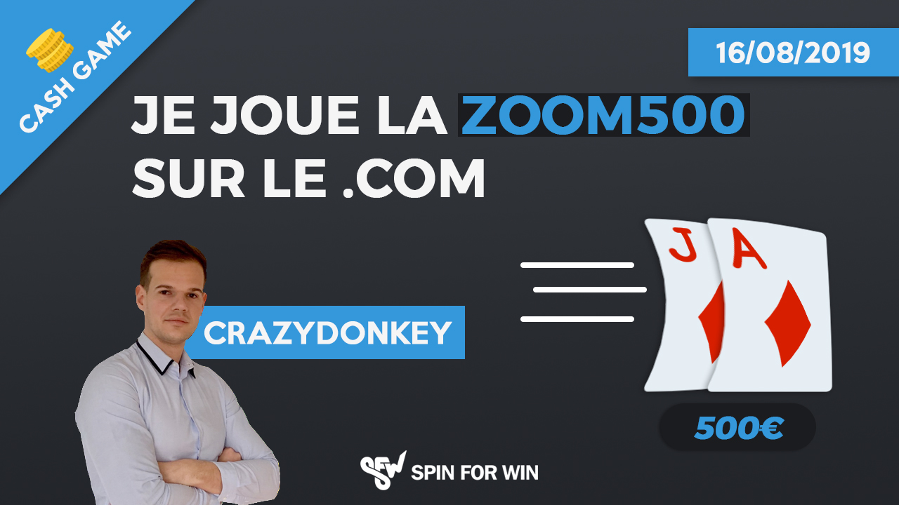 Je joue la ZOOM 500 sur le .com