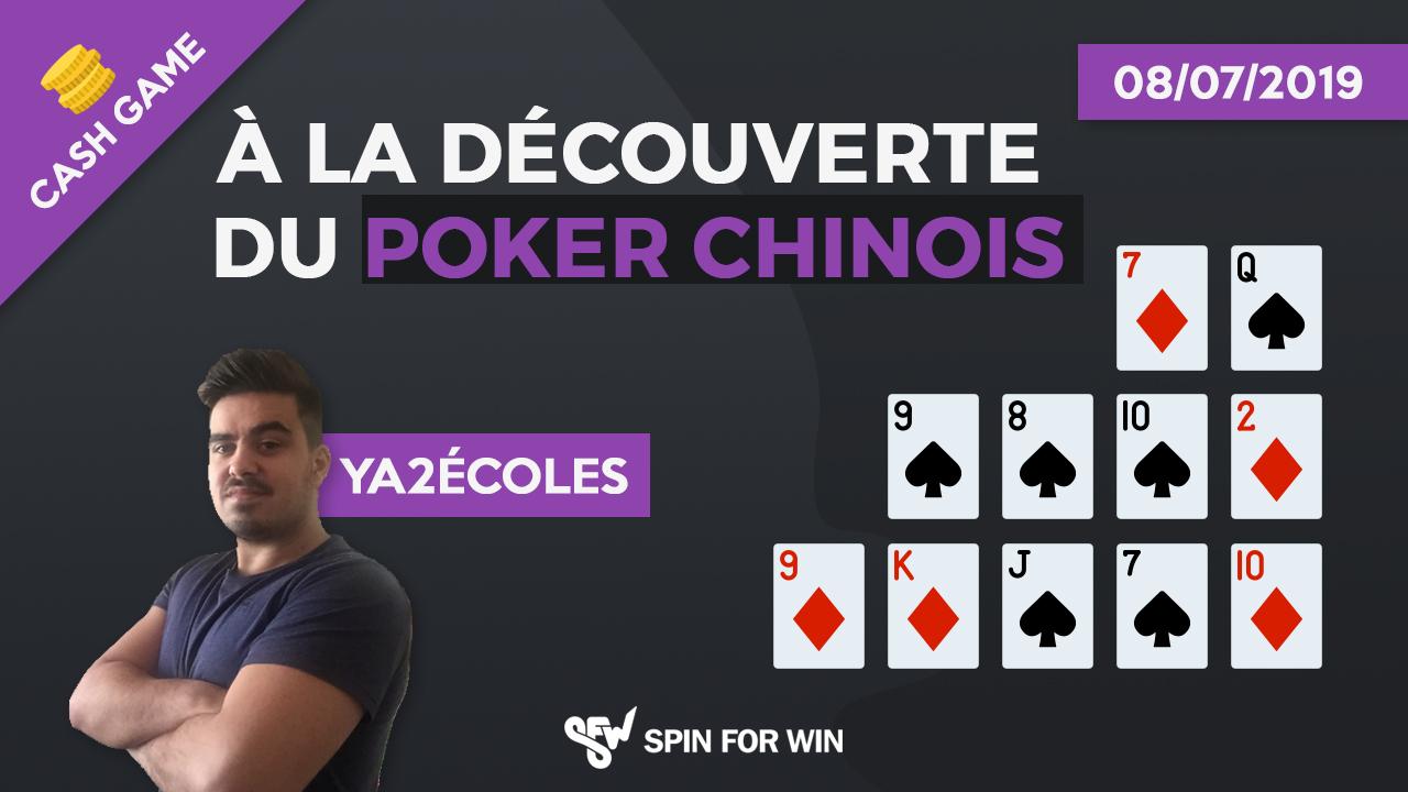 A la découverte du poker chinois