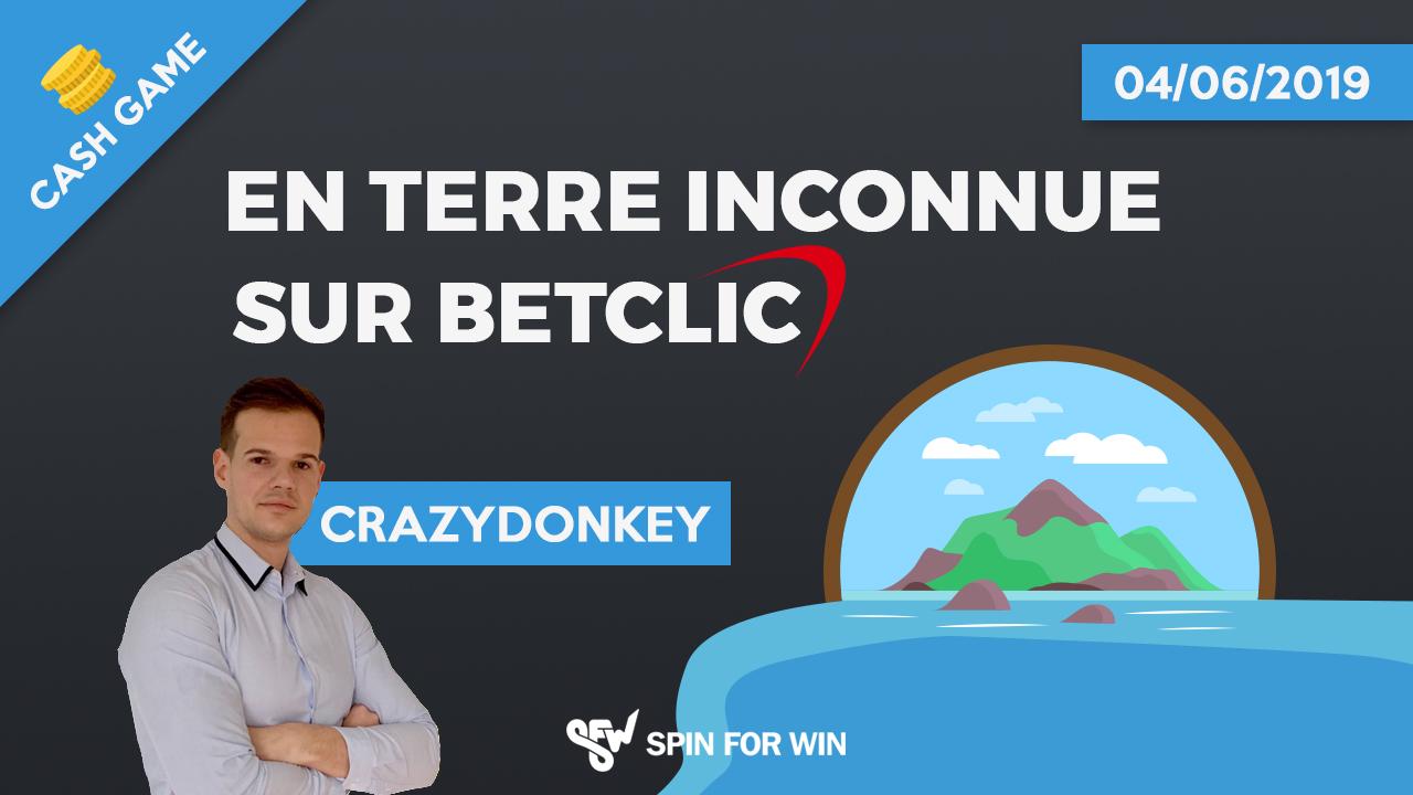 CrazyDonkey en terre inconnue sur Betclic !