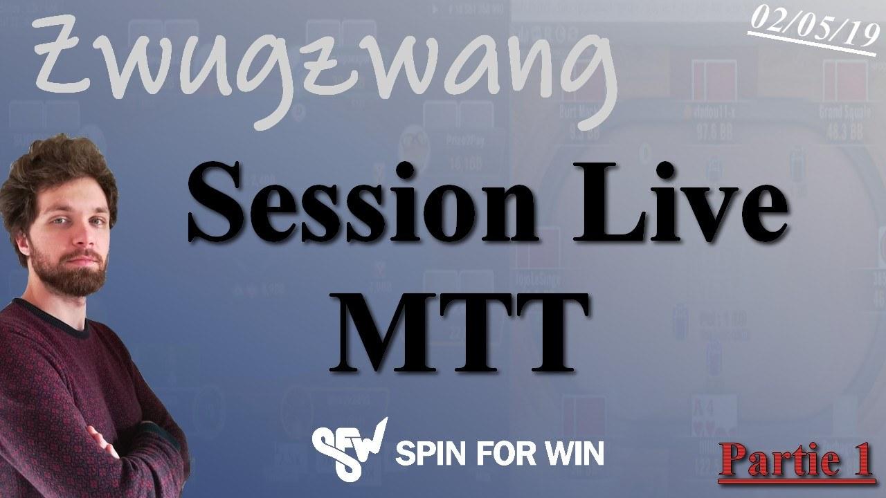 Zwugzwang commente sa session en Live, Partie 1