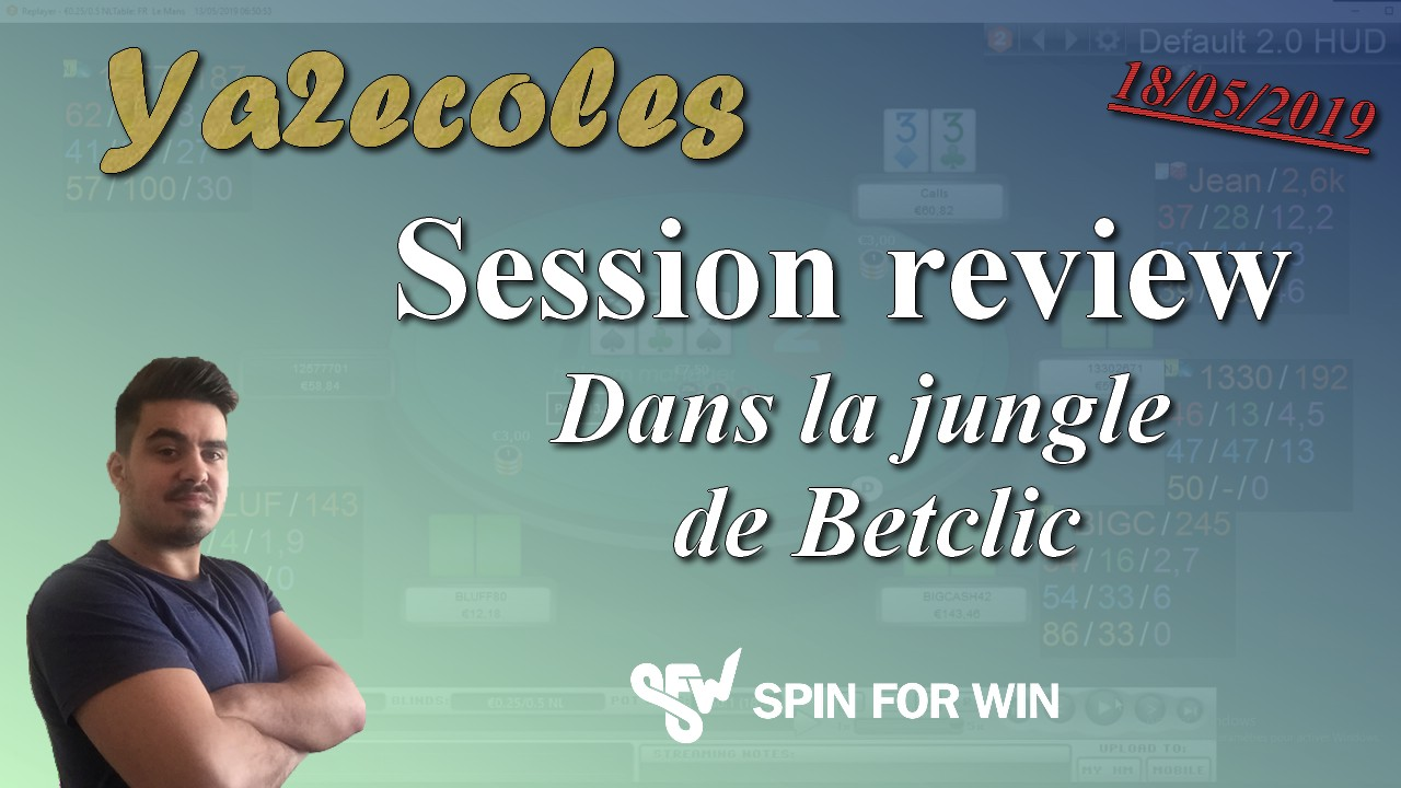 Dans la jungle de Betclic, session review d'un abonné, Partie 1