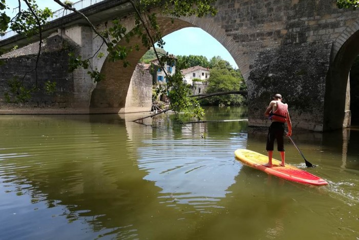 Paddle rental in the aveyron