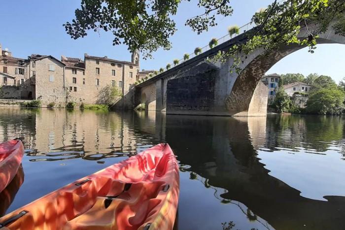 Canoe day rental in aveyron