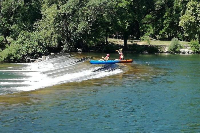 Descente intégral kayak Hérault