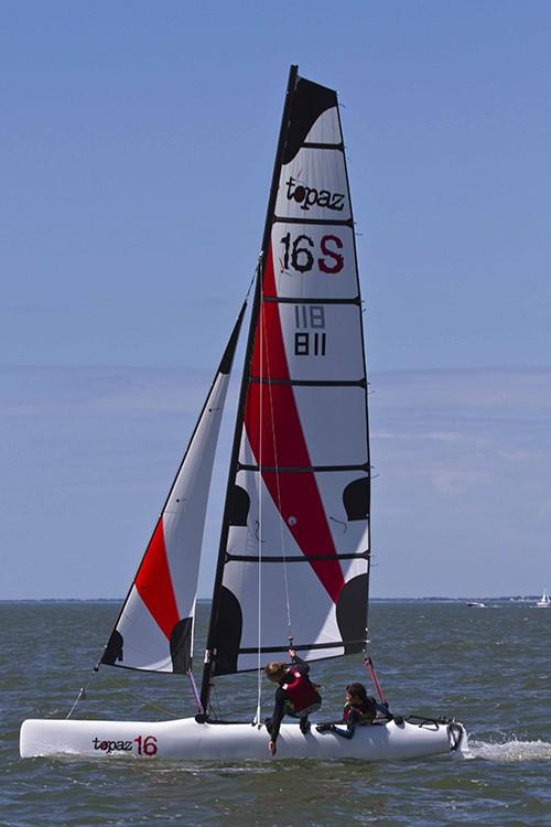 Topaz 16 Club voile Pyla sur mer