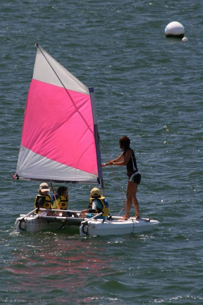 voile 4-6 ans Club voile Pyla sur mer