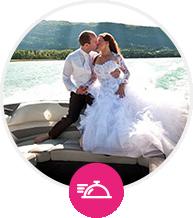 mariage water activities