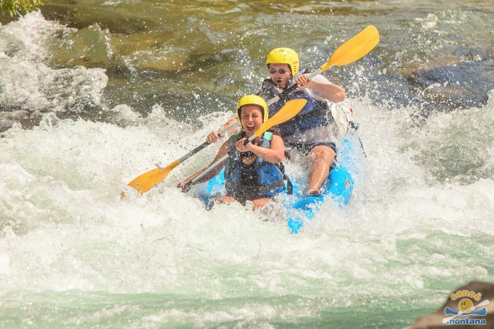 Canoe montana parcours sportif