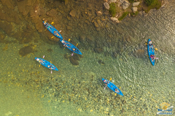 Parcours familial canoe montana