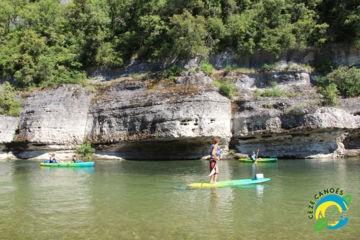 Parcours 9km en canoë kayak montpellier