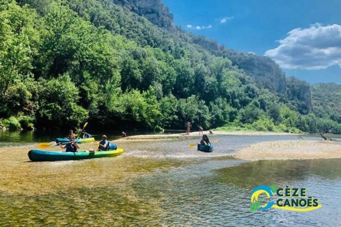 Bivouac canoë kayak cèze canoë