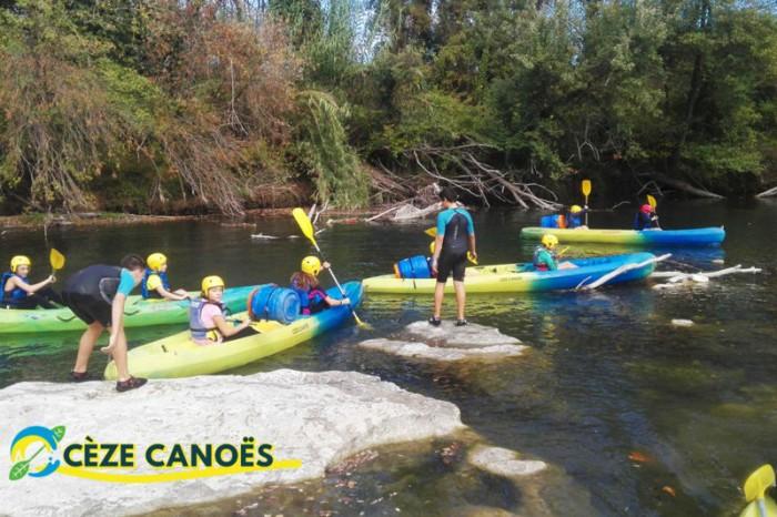 initiation kayak, paddle, canoë
