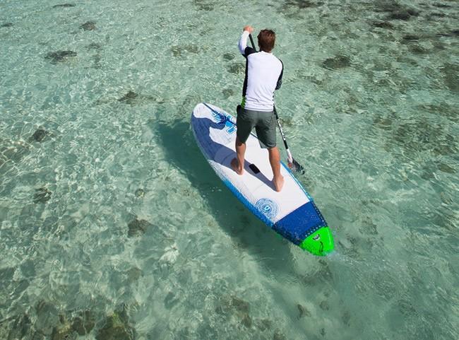 Paddle location
