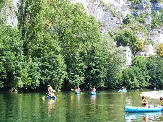 Location de canoë kayak dans les gorges du Tarn, parours 23km